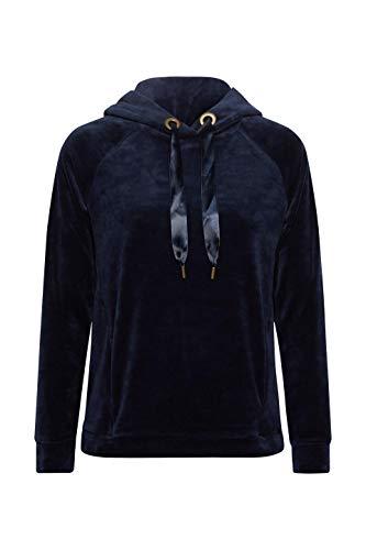 Bleu 400 By shirt Sweat navy Edc Femme Esprit nXSfAag