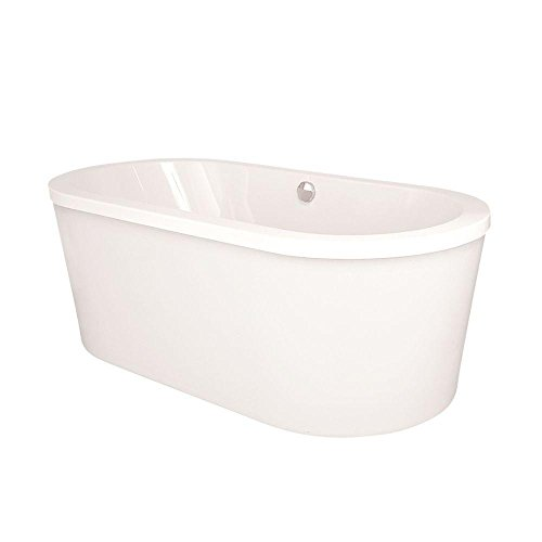 Raleigh 6 ft. Freestanding Air Bath Tub in White by Hydro Systems