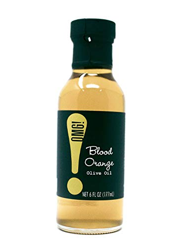 OMG!: Olive Oil | Your favorite EVOO with a twist | As found in Pike Place Market | Perfect for dipping, sautéing veggies and meats, salads & even baking. (Blood Orange, 6 FL OZ)