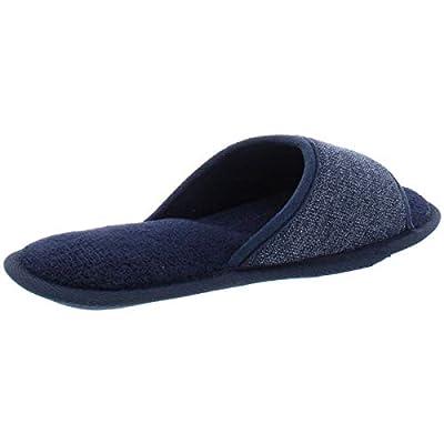 Gold Toe Mens Hyatt Indoor/Outdoor Memory Foam Slip-On Slippers | Slippers