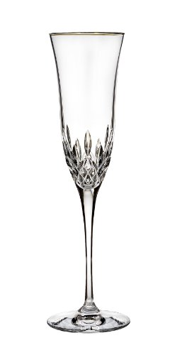 Waterford Lismore Essence Gold Stemware Flute (Gold Crystal Stemware)