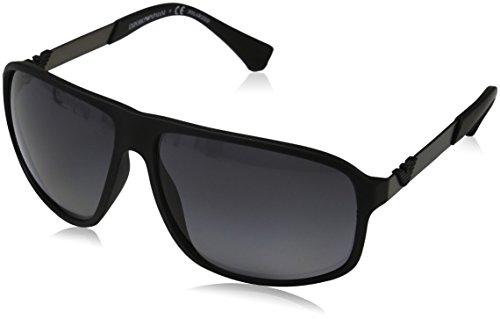 9a1f04ae308 Armani EA4029 Sunglasses 5063T3-64 - Black Rubber Frame