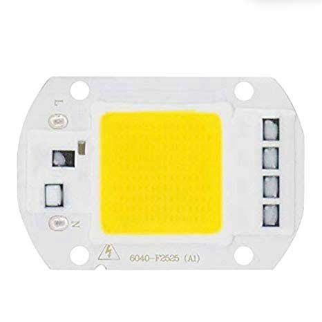 VEEKAYLGIHT COB LED Chip Lamp 50W 220V Smart IC No Need Driver Bulb for Flood Light Spotlight DIY Lighting