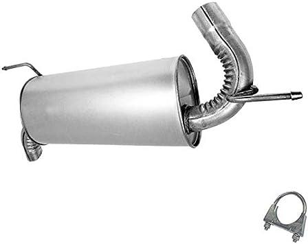 exhaust muffler tailpipe fits 2006 2007 hummer h3 3 5l 3 7l