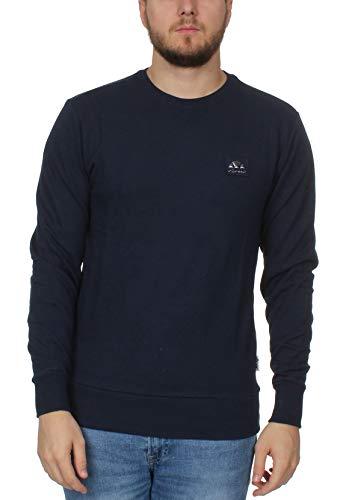 ellesse Sweater Herren BUFALINO Crew Sweatshirt Dunkelblau Navy