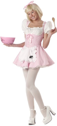 Little Miss Muffet Dress (Miss Muffet Costume - Teen)