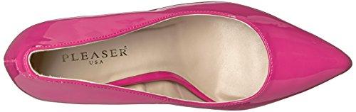 H Pump Hp Amu20 Slide Women's Pink Patent Pleaser wxSqpavHp