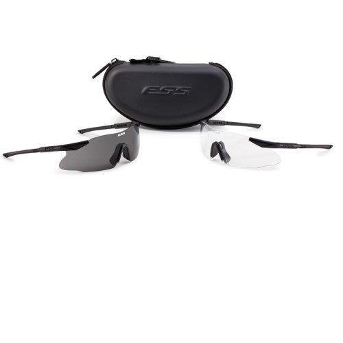 ESS Eyewear Ice 2X Eyeshield Kit, Black by ESS Eyewear