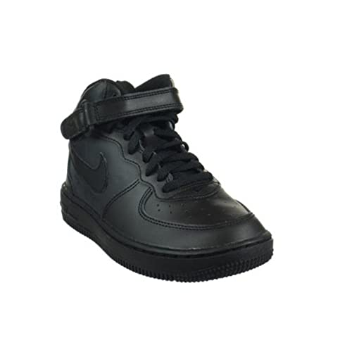 the best attitude 4c221 63998 Nike Air Force 1 Mid (PS) Preschool Kids  Shoes Black