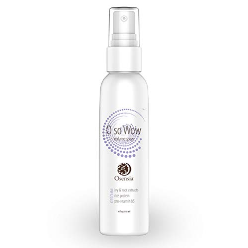 - Volumizing Spray - Thickening Texture Spray Gives Full, Voluminous Hair - Strengthen, Combat Oil, and Prevent Hair Loss - Panthenol, Burdock Root, Fenugreek for Hair Growth, Shine, Volume by Osensia