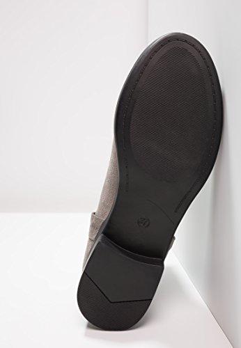 donna nero grigio Stivali Stivaletti Stivaletti blu Chelsea Flat corto Jodhpur sportivi ed in con Stivali da eleganti Even o Grigio gambale amp;ODD x0InYqxp