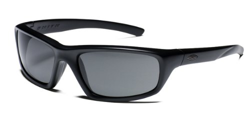 Smith Optics Director Tactical Sunglass with Black Frame (Polarized Gray - Mens Smith Sunglasses