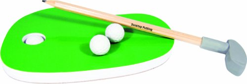 Check Out This Novelty Desktop Golf Stationery Set