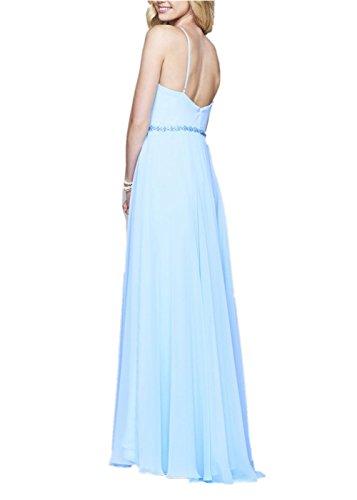 para Clásico Sin Promworld Azul mujer mangas trapecio Vestido qTXZxwzU