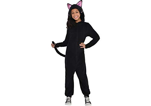 Cat Costumes For Girls (Zipster Black Cat Onepiece Costume - Small)