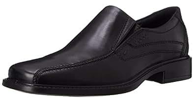 ECCO Men's New Jersey Loafer,Black,39 EU (US Men's 5-5.5 M)