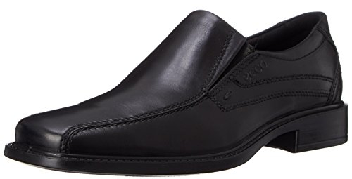 ECCO Men's New Jersey Loafer,Black,46 EU (US Men's 12-12.5 - Black Medium Jersey