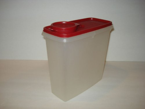 Tupperware Cereal - Tupperware Cereal Storer Red Seal