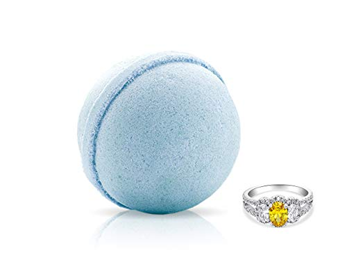 Fragrant Jewels Caribbean Breeze Bath Bomb with Collectible Ring (Size 5-10)