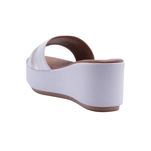 Inuovo Inuovo pour Femme Bianco pour Femme Sandales Inuovo Bianco Sandales Sandales pour rR6CKr0qwx