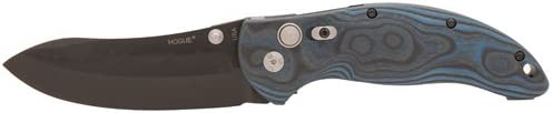 Hogue 34453 Knives EX-04 Folder 4 Upswept Blade, G-Mascus Blue