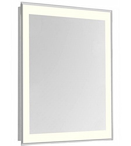 Elegant Lighting 4 Sides LED Edge Electric Mirror Rectangle Dimmable 3000K (20''W x 40''H) by Elegant Lighting