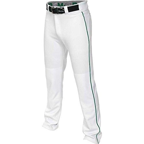 Easton Youth Mako 2 Piped Baseball Pants White/Green XL