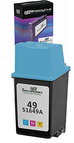 Speedy Inks - Remanufactured Replacement Ink Cartridge for HP 49 51649A Tri-Color