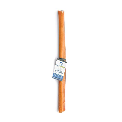 Image of Barkworthies 9104428-4 Double Cut Odor-Free Bully Stick (4 Pack)