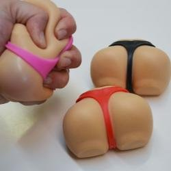 Butt Shaped Stress Ball