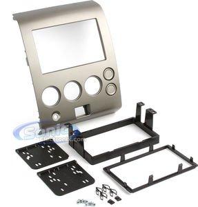 Metra 95-7406 Double DIN Installation Dash Kit for 2004-2007 Nissan Titan and 2004-2005 Nissan Armada -Silver