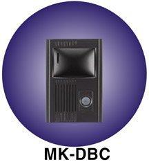 (AIPHONE Model MK-DGC Black Semi-Flush Mount Pantilt Intercom Door Station)