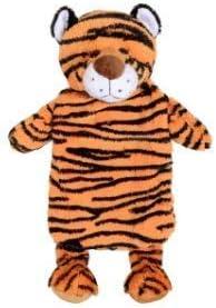 Homezone Verschiedene Plüschtier Themen Wärmflasche mit 500ml Wärmflasche inklusive Giraffe Bär Löwe Affe Hund Einhorn Tiger - Tiger Wärmflasche mit/Deckel