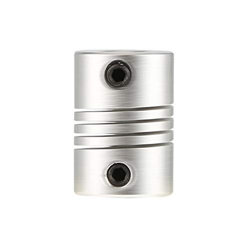 Liobaba 6x6mm CNC Motor Jaw Shaft Coupler 6mm To 6mm Flexible Coupling OD 16x23mm ()