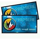 Regal Entertainment Group Premiere Movie Ticket 2 Pack
