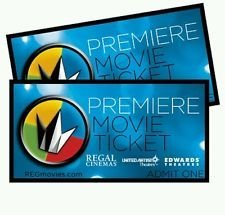Regal Entertainment Group Premiere Movie Ticket 2 Pack Date Ticket