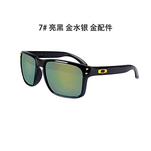 de black Mercurio conducen los Gafas Libre al Bright Las Hombres de de Gafas Sol Gafas Negro de de Las Sol gold mercury los Brillante de Sol Aire Que Burenqiq Deportes UxgpqYZRw