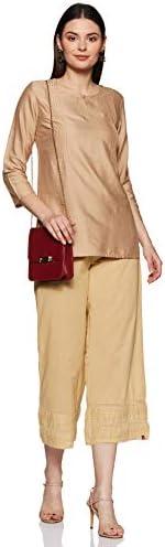 Bas Palazzo BIBA en coton pour femme (CORE BOT15895S_Beige_S