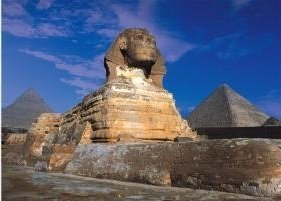 Tomax The Great Sphinx of Giza, Egypt 500 Piece Glow-in-the-dark Jigsaw - Egypt Ancient Puzzles