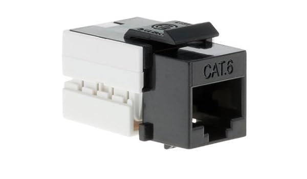 Black Box of 50 110 Style CNAweb Cat5e RJ45 Modular Keystone Jack