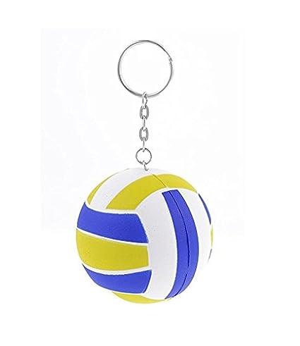 ZHJZ Llavero de Voleibol de Poliuretano con Bolas elásticas ...