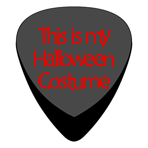 This Is My Halloween Costume Guitar Picks Plectrums 12-Packs Music Design Celluloid 3 Sizes Thin Medium Heavy -