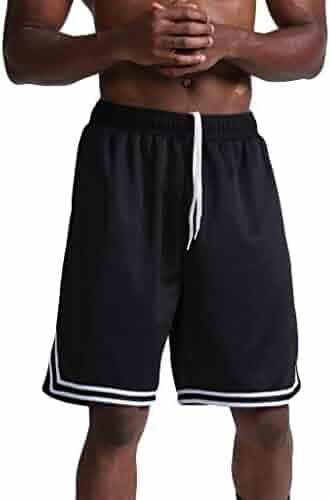 Kawaiine Men's Casual Thin Fast-Drying Loose Sports Short Pants