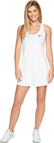 Nike Tennis Dress - Nike Tennis Court Dry Tennis Dress (L, White)