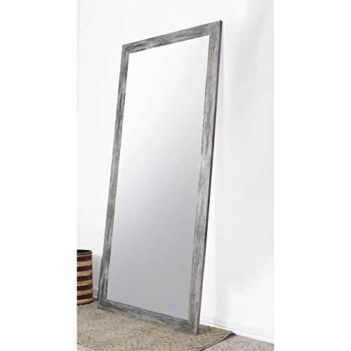 Rayne Mirrors U.S. Made Full Body/Floor Length Mirror - Grey 31.5 w x 70.5 l inches.