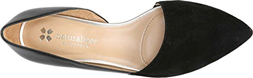 Naturalizer Women's Samantha D'Orsay Shoe,Black Leather,US 10 W by Naturalizer (Image #5)