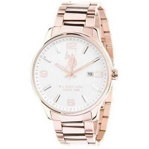Reloj U.S. Polo ASSN. Mujer Acero Rosè usp4338rg: Amazon.es: Relojes