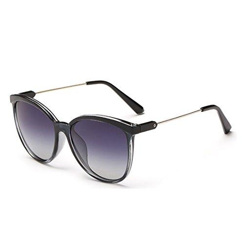 Round Resin Frame Mirrored Lenses Retro Sunglasses for Women and Men - Kourtney Style Kardashian