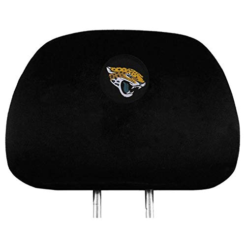 NFL 2 Pack Car Seat Headrest Covers - Pick Jacksonville Jaguars
