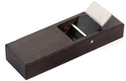 Desktop Block Plane, Ebony Mini Wood Hand Plane, Woodworking Pocket Plane For Trimming Projects, Surface Smoothing - Various Sizes 105mm - Wood planer